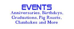 For Information about our Services for Non-Wedding Events !